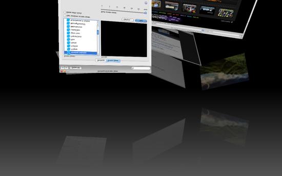 Fenêtres Volantes Screensaver