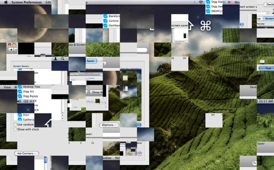 Desktop Tiles Screensaver