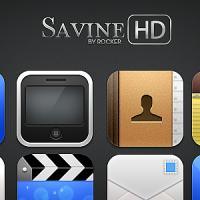 Savine HD [SpringBoard Theme]