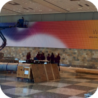 Apple Starts Decorating For WWDC 2014 : Banners Go Up 'Write the code. Change the world.'