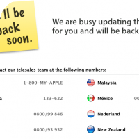 Apple Store Is Down Prepping for iPhone 4S Pre-Orders