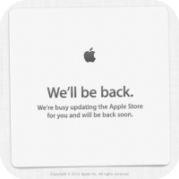 Apple's Online Store Goes Down Ahead of The iPhone 5S Launch