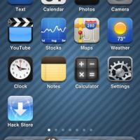 5 Icon Dock