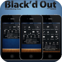 Black'd Out [SBSettings Theme]