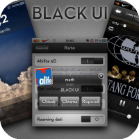 BLACKUI iOS5 [UI Theme]