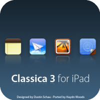 Classica 3 For iPad [ [Springboard Theme]