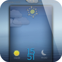 LS CardboardAnimatedWeather - Beautiful LockScreen Theme