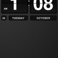 Flip Clock - Beautiful Clock [Lockscreen]