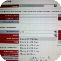 AT&T System Shows a White iPhone 4S?