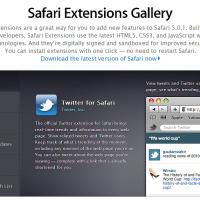 Safari 5.0.1 Brings Extensions