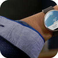 Motorola Announces : Moto 360 - Android Wear Powered Smartwatch