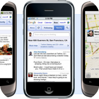 "Google Launches ""Buzz"" For the iPhone"