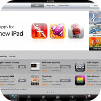 "Apple Intros New App Store Section : ""Great Apps For The New iPad"""