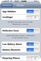 iHome – Full Control Over your SpringBoard|Home Button & More