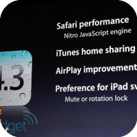 iOS 4.3 GM Released to Developers in Anticipation of iPad 2 Release
