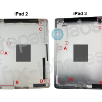 Photo of iPad 3's Rear Shell Leaked ? - Points to Several Changes