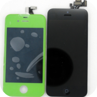 'iPhone 5' Front Panel vs iPhone 4 Front Panel [Photos]