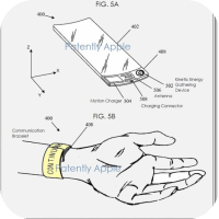 Apple Patent - points directly to 'iWatch' concept with flexible touchscreen display