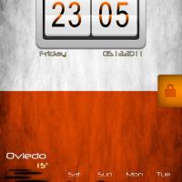 LS Orange [LockScreen Theme]