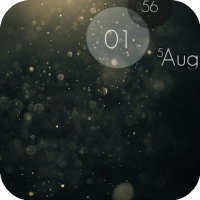 LS iDust [Lockscreen Theme]