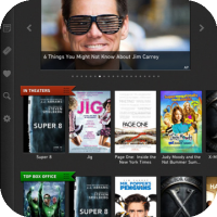 Moviefone - Best Movie Discovery & Showtimes App For The iPad