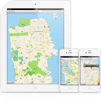 Apple Introduces : In-House Maps App Brings Turn By Turn, Flyover,Live Traffic and More...