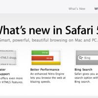 Apple Releases Safari 5