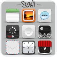 Safi HD [SpringBoard Theme]