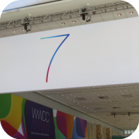 iOS 7 Confirmed : New Banners Go Up at Moscone West