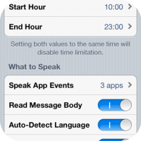 SpeakEvents Puts Life Into Your iPhone Notifications & Messages
