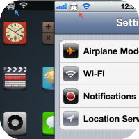 Replace that boring Carrier Logo on your iPhone with some Cool Eye Candy with - Zeppelin (Tweak)