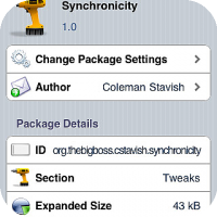 Synchronicity - Lets you Use your iDevice While it Syncs
